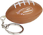 Football Key Chain Stress Balls